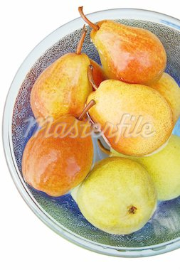 Pears in a bowl Stock Photo - Royalty-Free, Artist: ninette_luz, Code: 400-03955144
