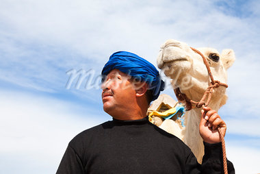 Moroccan Camel Driver with Arabian Camel, Essaouira, Morocco Stock Photo - Premium Rights-Managed, Artist: F. Lukasseck, Code: 700-03958184