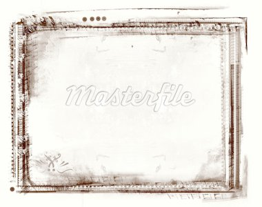 Computer designed highly detailed grunge border and aged textured background with space for your text or image Stock Photo - Royalty-Free, Artist: Lizard, Code: 400-03962613