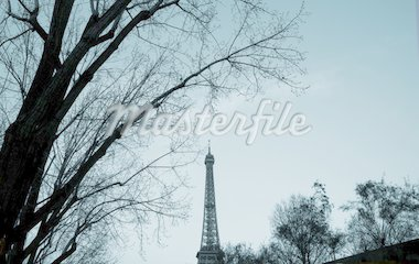The Eiffel Tower in nightfall - paris France Stock Photo - Royalty-Free, Artist: ilolab, Code: 400-03962915