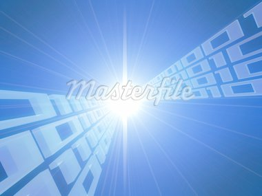 3d rendered illustration of an abstract digital background Stock Photo - Royalty-Free, Artist: Eraxion, Code: 400-03966219