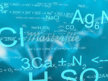 3d rendered illustration of science formulas Stock Photo - Royalty-Free, Artist: Eraxion, Code: 400-03966605