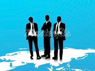 This is vector illustration of business corporate people Stock Photo - Royalty-Free, Artist: BERVIVO, Code: 400-03969943