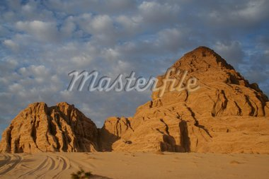 The wadi-rum dessert in Jordan Stock Photo - Royalty-Free, Artist: jkuijt, Code: 400-03973775