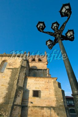 Church of St. Vincent de la barquera, Cantabria, Spain Stock Photo - Royalty-Free, Artist: JavierGil, Code: 400-03977524