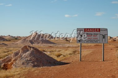 Opal mines, Coober Pedy, South Australia Stock Photo - Royalty-Free, Artist: disorderly, Code: 400-03978615