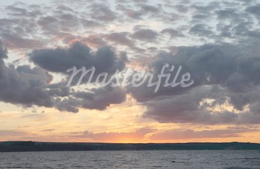dark and light clouds on a sunset over Volga. Stock Photo - Royalty-Free, Artist: mzh29, Code: 400-03991767