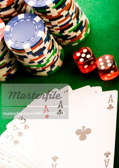In the casino Stock Photo - Royalty-Free, Artist: JanPietruszka, Code: 400-04002110