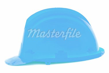 Blue helmet a over white background Stock Photo - Royalty-Free, Artist: Gelpi, Code: 400-04007553