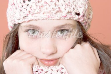 portrait of pretty girl Stock Photo - Royalty-Free, Artist: vladacanon, Code: 400-04020746