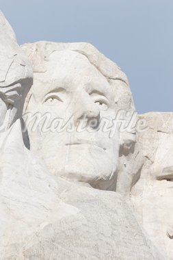 Thomas Jefferson, Mount Rushmore National Memorial, South Dakota Stock Photo - Royalty-Free, Artist: mphoto, Code: 400-04021596