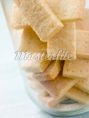 Jar of Shortbread Finger Biscuits Stock Photo - Royalty-Free, Artist: MonkeyBusinessImages, Code: 400-04034649