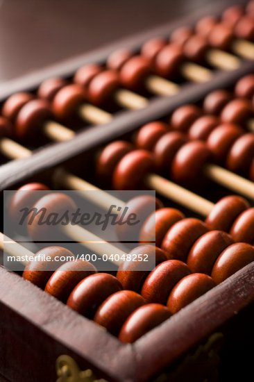 Close-Up Of Abacus Stock Photo - Royalty-Free, Artist: MonkeyBusinessImages, Code: 400-04048252