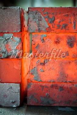 piles of hot iron blocks in foundry. Narrow focus on central block Stock Photo - Royalty-Free, Artist: diego_cervo, Code: 400-04051834