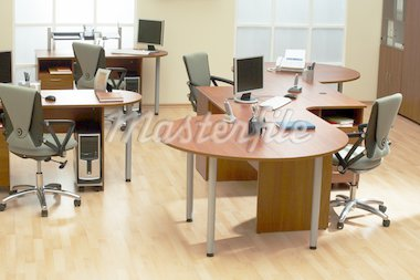 Beautiful conditions at modern and light office Stock Photo - Royalty-Free, Artist: terex, Code: 400-04067183