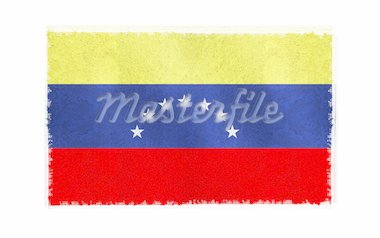 Flag of Venezuela on old wall background, vector wallpaper, texture, banner, illustration Stock Photo - Royalty-Free, Artist: aispl, Code: 400-04072109