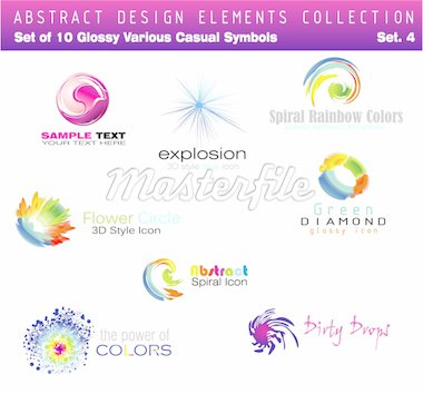 Collection of Design Elements Set 4 - Other set in my Portfolio Stock Photo - Royalty-Free, Artist: DavidArts, Code: 400-04114122