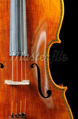 beautiful cello over a black background Stock Photo - Royalty-Free, Artist: jeffbanke, Code: 400-04122880