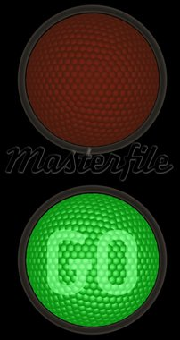 Traffic light Stock Photo - Royalty-Free, Artist: Rony029, Code: 400-04145822