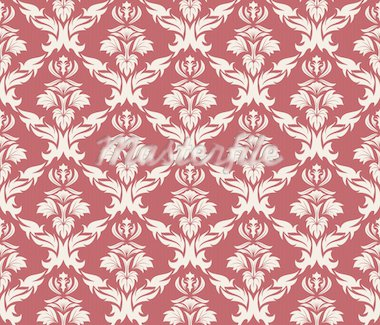 Damask seamless vector background.  For easy making seamless pattern just drag all group into swatches bar, and use it for filling any contours. Stock Photo - Royalty-Free, Artist: angelp, Code: 400-04149426