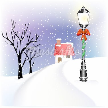 Christmas lantern Stock Photo - Royalty-Free, Artist: balasoiu, Code: 400-04162249