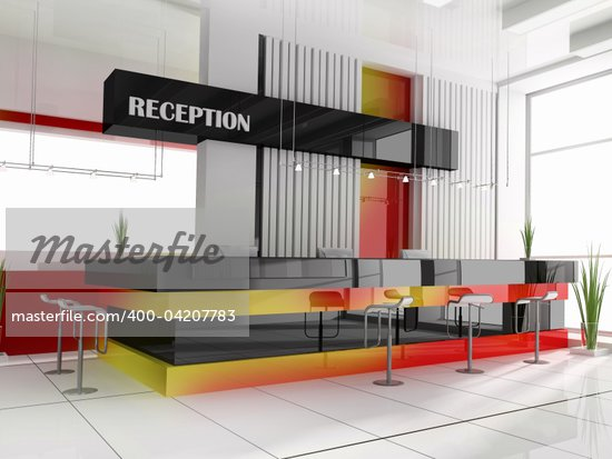 Hall of hotel in agoy 3d image Stock Photo - Crestock Royalty-Free, Artist: kash76, Code: 400-04207783