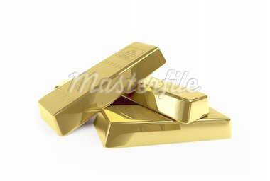 gold on a white background Stock Photo - Royalty-Free, Artist: 3desc, Code: 400-04228191