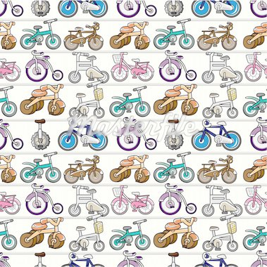 seamless bicycle pattern Stock Photo - Royalty-Free, Artist: notkoo2008                    , Code: 400-04273621