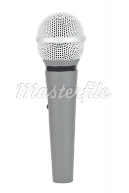 Cordless microphone  isolated on the white background Stock Photo - Royalty-Free, Artist: digitalr                      , Code: 400-04278063