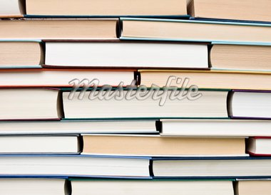 Pile of Old worn books Stock Photo - Royalty-Free, Artist: gemenacom                     , Code: 400-04278632