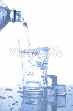 glass or cup of splashing water on white background Stock Photo - Royalty-Free, Artist: gunnar3000                    , Code: 400-04292091