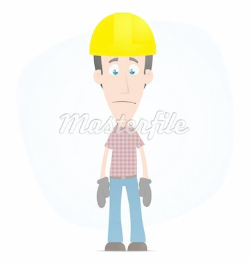 Illustration of a cartoon cute character for use in presentations, etc. Stock Photo - Royalty-Free, Artist: artenot                       , Code: 400-04293932