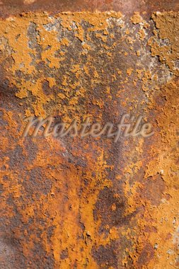 Detail of rusty metal, showing rust textures Stock Photo - Royalty-Free, Artist: victoroancea                  , Code: 400-04303827