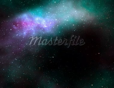 illustration of a deep outer space nebula or galaxy Stock Photo - Royalty-Free, Artist: clearviewstock                , Code: 400-04309140
