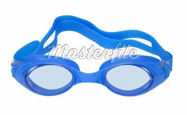 Goggles for swimming isolated on white background.  With Clipping Path Stock Photo - Royalty-Free, Artist: krasyuk                       , Code: 400-04310019