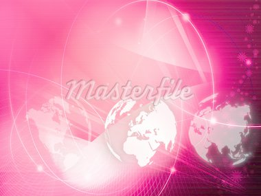 Europe map technology style artwork for your design Stock Photo - Royalty-Free, Artist: ilolab                        , Code: 400-04323045