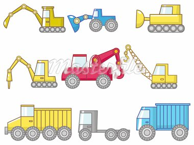 cartoon truck icon Stock Photo - Royalty-Free, Artist: notkoo2008                    , Code: 400-04337081