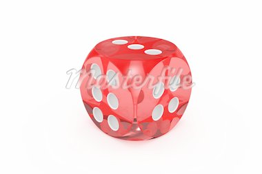Dice. Image generated in 3D application. High resolution image. Stock Photo - Royalty-Free, Artist: Aleksan                       , Code: 400-04377031