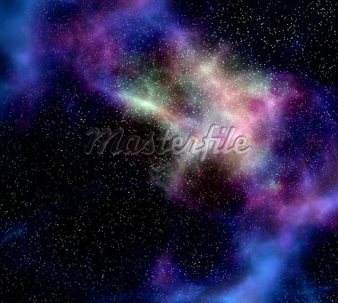 deep outer space gas cloud nebula galaxy and stars Stock Photo - Royalty-Free, Artist: clearviewstock                , Code: 400-04377235