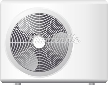 illustration of an air conditioning system Stock Photo - Royalty-Free, Artist: unkreatives                   , Code: 400-04388473