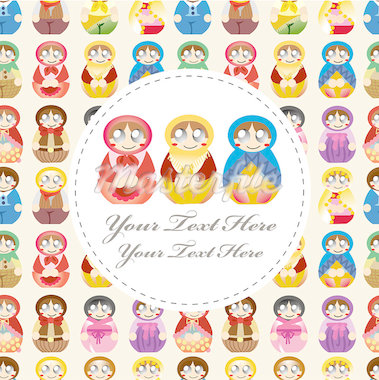 doll card   Stock Photo - Royalty-Free, Artist: notkoo2008                    , Code: 400-04418091