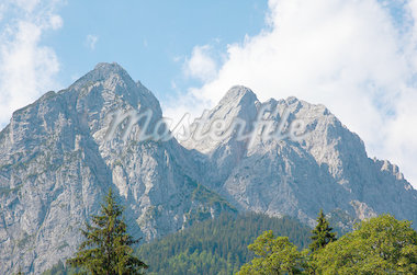 view over the mountains Stock Photo - Royalty-Free, Artist: rbouwman                      , Code: 400-04419330