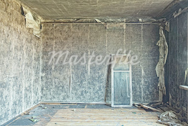 old abandoned burned interior photo Stock Photo - Royalty-Free, Artist: vicnt                         , Code: 400-04422357