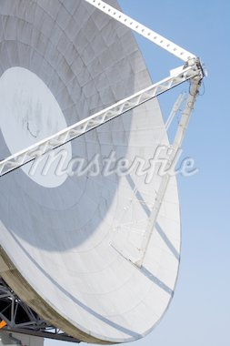 A parabolic satellite dish Stock Photo - Royalty-Free, Artist: overthehill                   , Code: 400-04501910