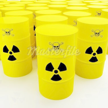 group of radioactive tank Stock Photo - Royalty-Free, Artist: tiero                         , Code: 400-04507293