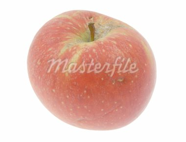 apple on white Stock Photo - Royalty-Free, Artist: kmit                          , Code: 400-04526466
