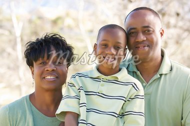 Man, Woman and Child having fun in the park. Stock Photo - Royalty-Free, Artist: Feverpitched                  , Code: 400-04553087