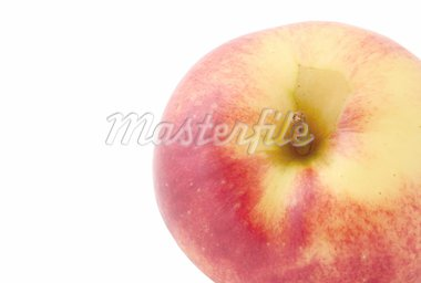 apple details with pure white copyspace Stock Photo - Royalty-Free, Artist: kmit                          , Code: 400-04557610