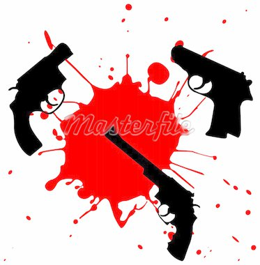weapon and blood Stock Photo - Royalty-Free, Artist: camuka510                     , Code: 400-04577990