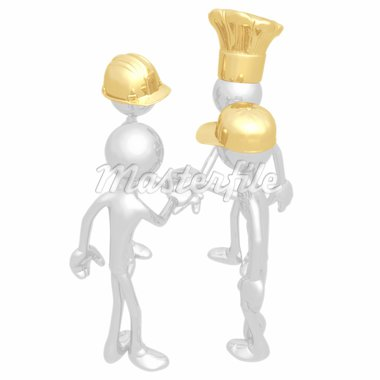 A Concept And Presentation Figure In 3D Stock Photo - Royalty-Free, Artist: LuMaxArt                      , Code: 400-04581125